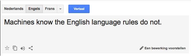 Waarom google translate niet geschikt is voor zakelijk for Ladenblok vertaling engels